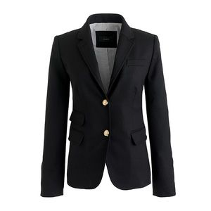 J.CREW Black Schoolboy Blazer NWT Size 12